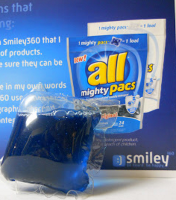 Smiley360 all Mighty Pacs Mission Arrives in Mail