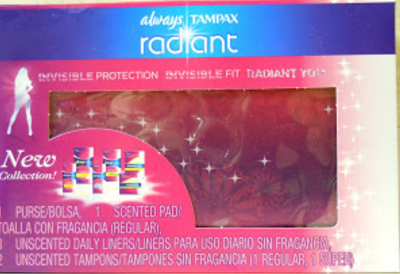 Always and Tampax Final Influenster VoxBox Item Review