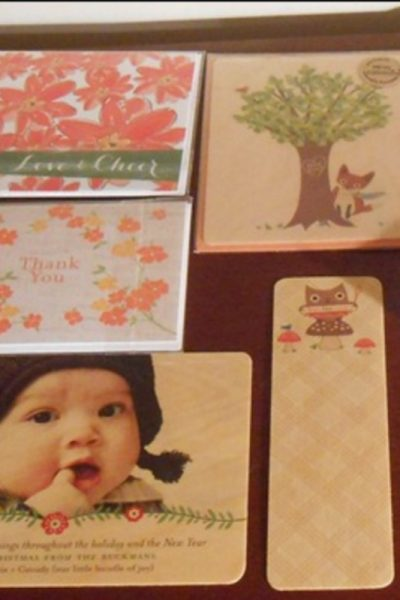 Beautiful Wood Grain Stationery & More at Night Owl Paper Goods