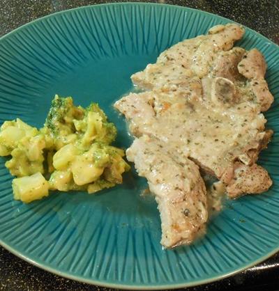 Parmesan Garlic Pork Chops Recipe