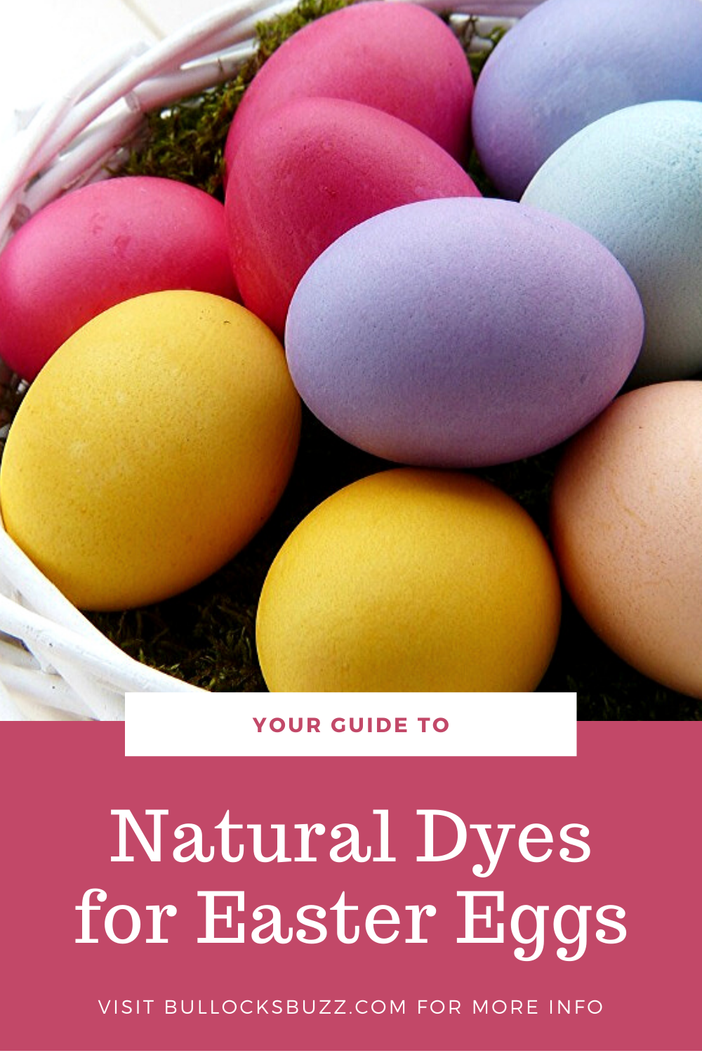 Check out these natural dyes for Easter eggs and get ready to make gorgeous, fun-colored eggs that are perfect for your Easter Egg Hunt!