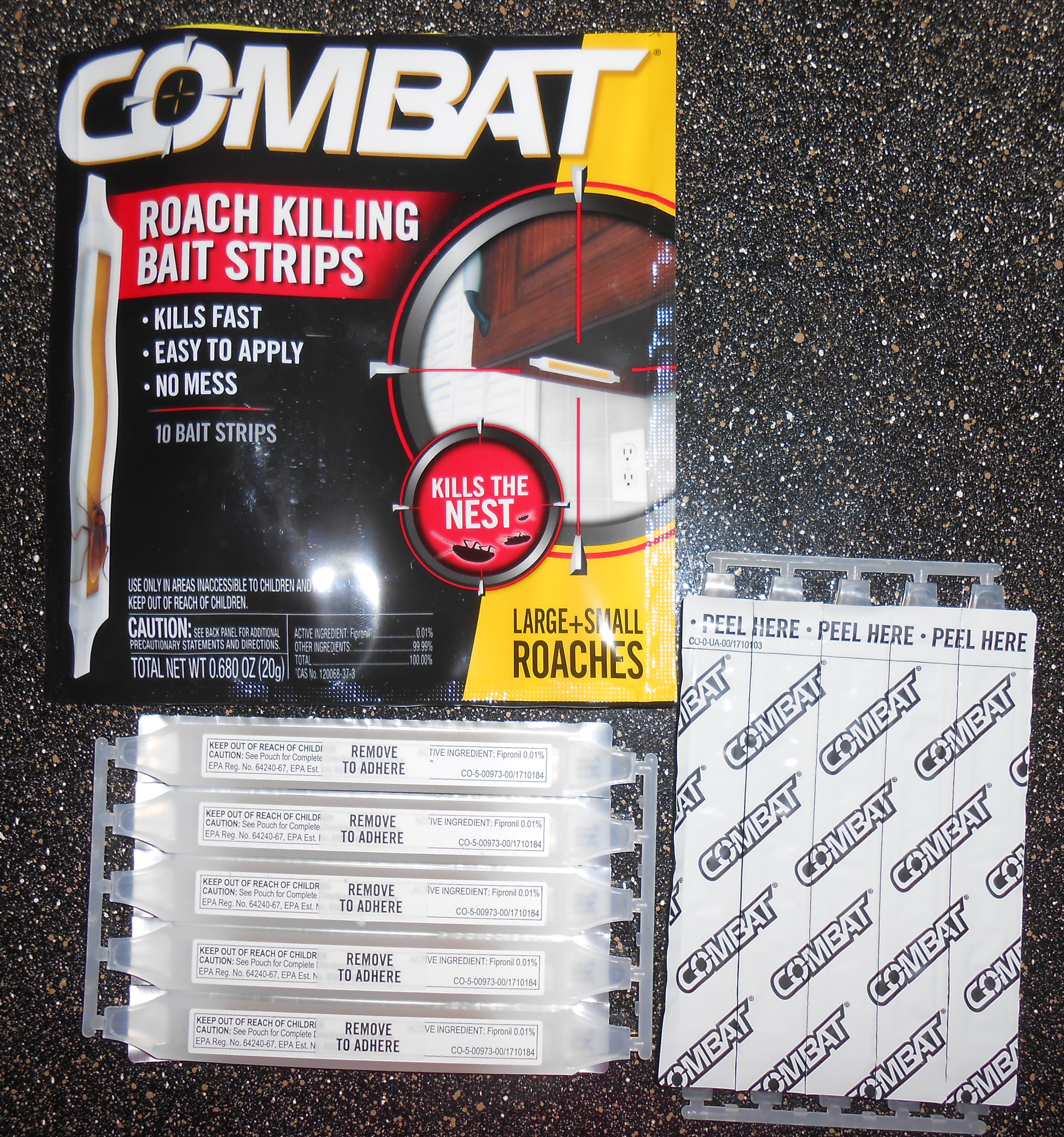 Combat Bugs With New Combat Roach Killing Bait Strips