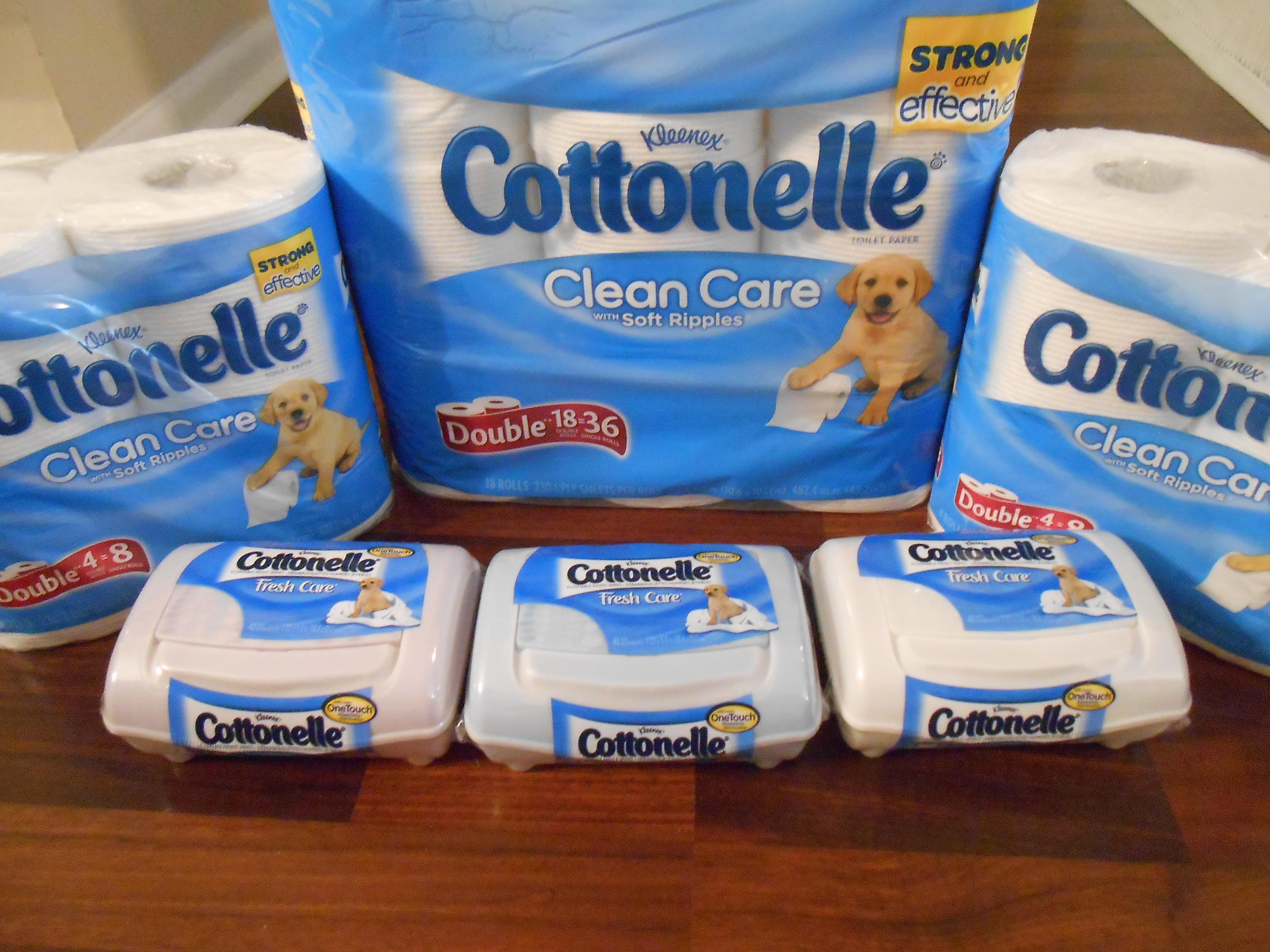 Cottonelle Care Clean Routine