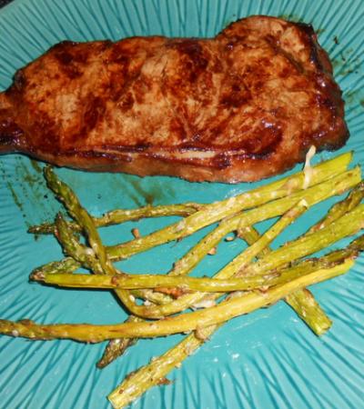 Oven Roasted Garlic Asparagus Recipe