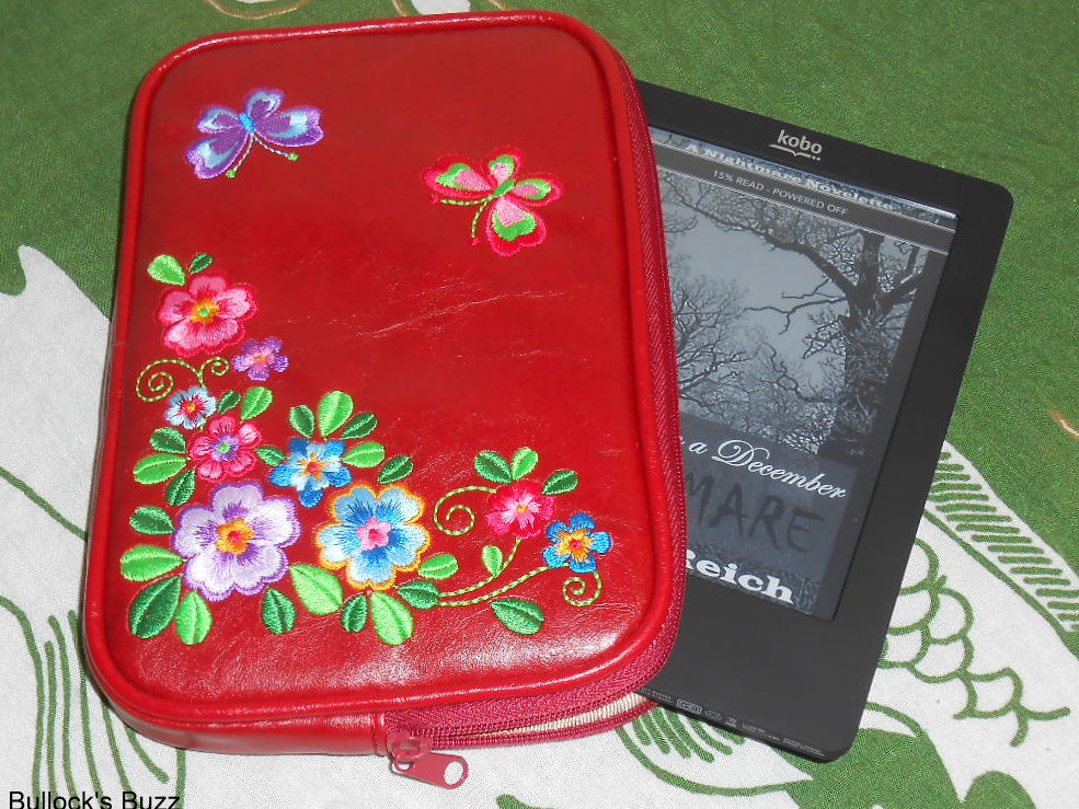 Lavishy Garden Flower and Butterfly eReader Sleeve Review!  Win One!