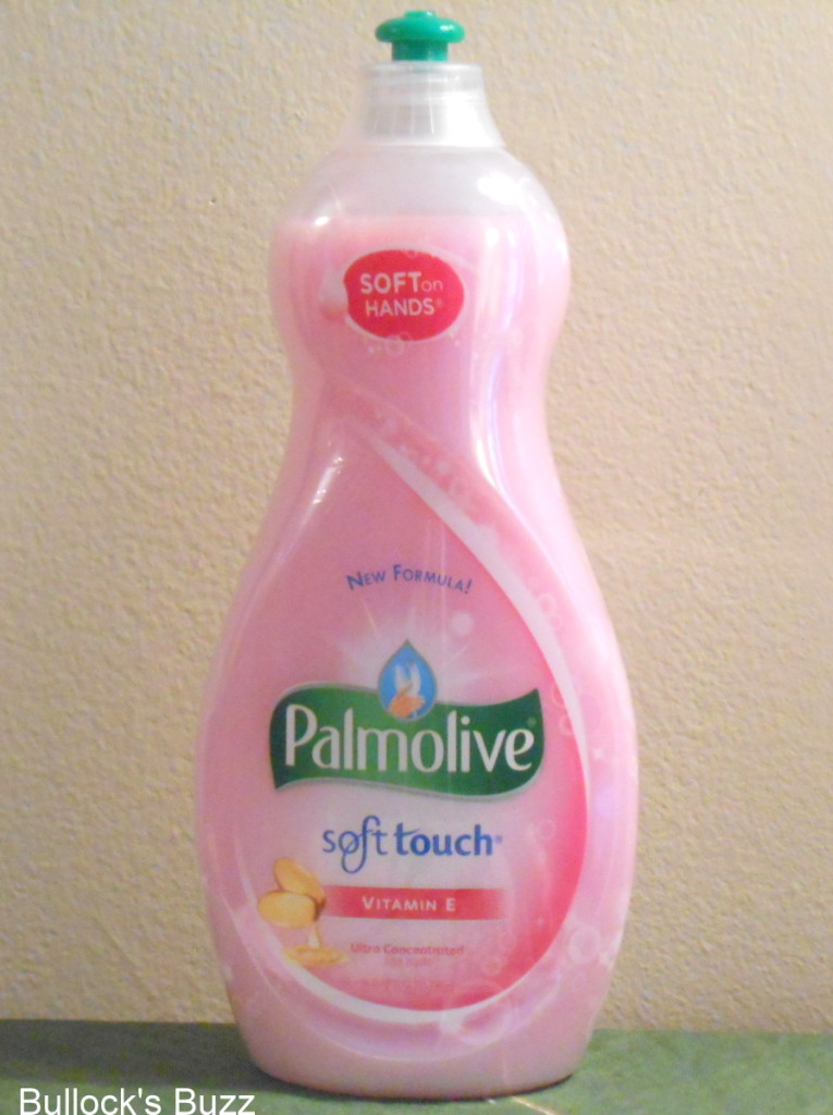 Palmolive Soft Touch Dishwashing Liquid Tough Only On
