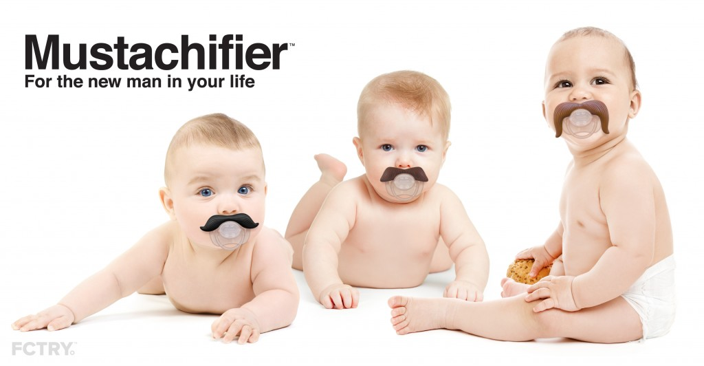 Mustachifier: The Pacifier with Style!