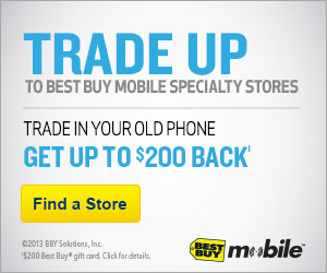 Best Buy Mobile Specialty Stores: Trade In Your Old Phone