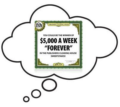 Publishers Clearing House Win $5000 A Week Forever Sweepstakes