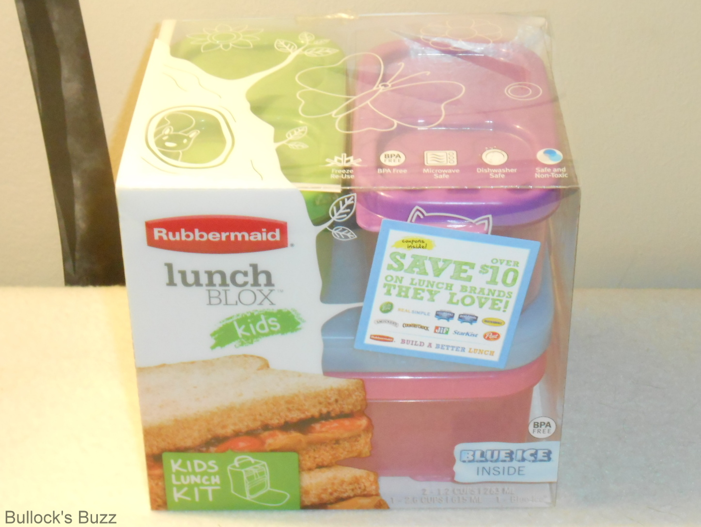 Rubbermaid LunchBlox Kids Review and Giveaway