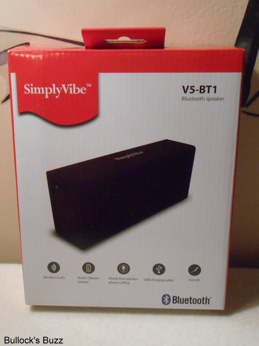 SimplyVibe V5-BT1 Bluetooth Wireless Speaker Review