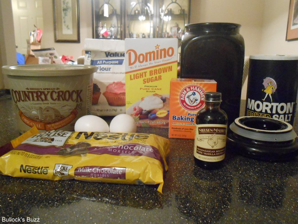 Double Chocolate Chip Cookies ingredients