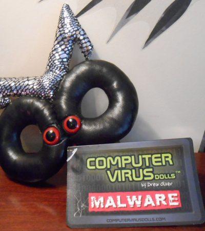 Computer Virus Dolls Review: Malware Plush Doll
