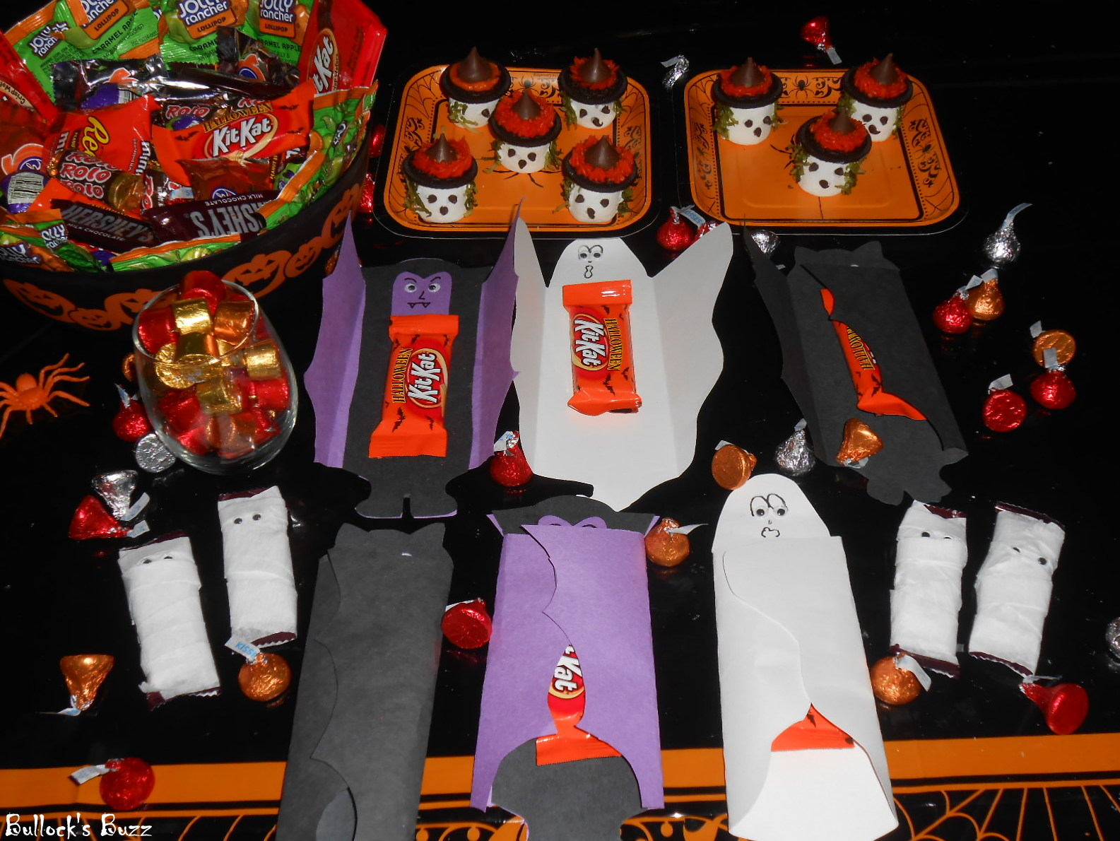 Hershey's Halloween Review: Creepy Candy Crafts #HersheysHalloween