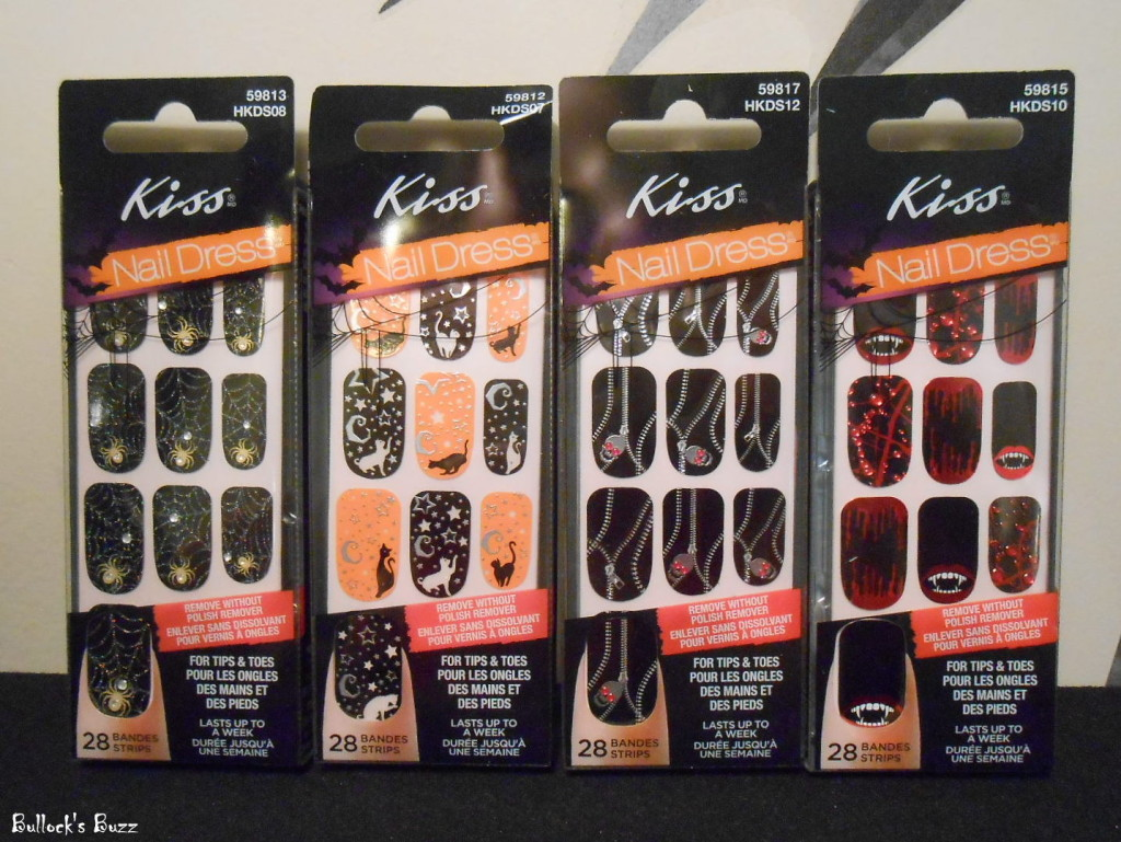 Kiss Products Review: Halloween Nail Art and More ...