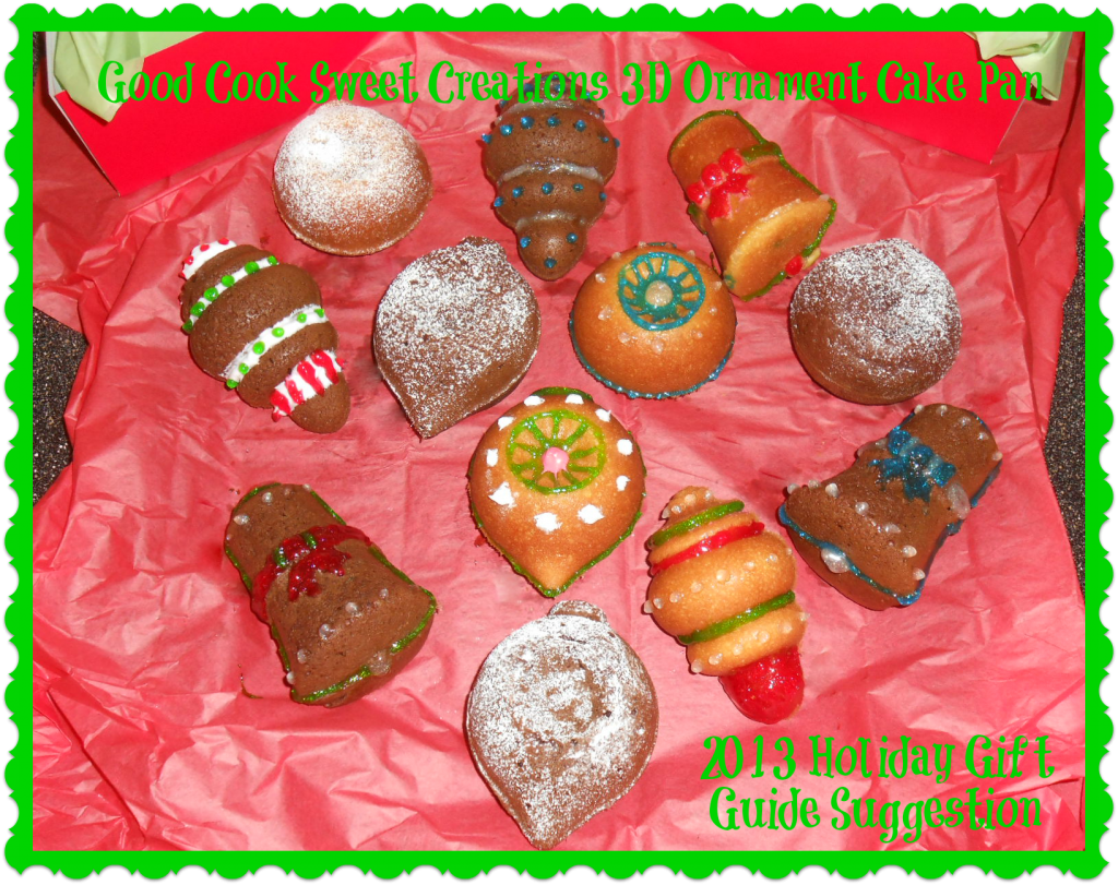 Festive Christmas Ornament Cakes