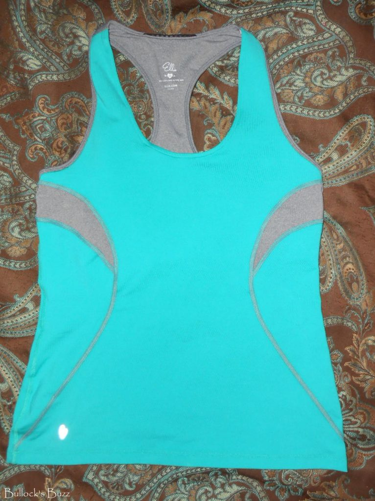 fitness fashion from ellie workout tank top