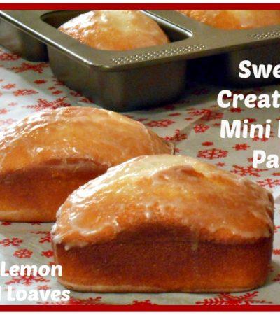 Mini Lemon Bread Loaves Recipe