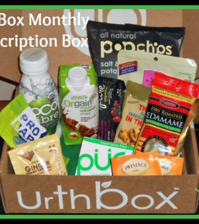 UrthBox Monthly Subscription Box ~ The Healthy Choice