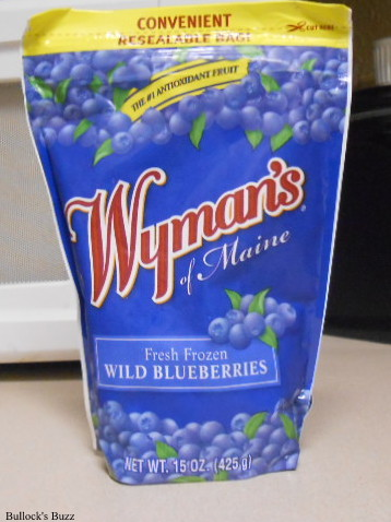Wyman's Blueberries used in this Very Berry Blueberry Muffi