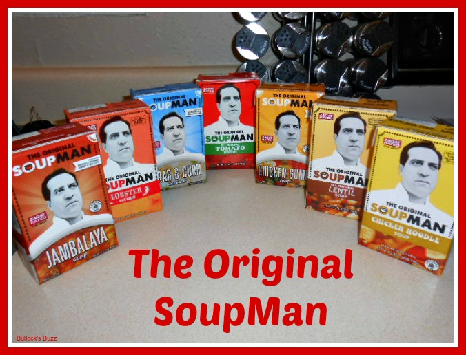 Soupman Soups flavors