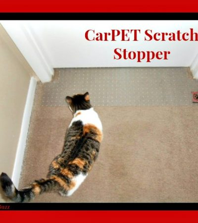 CarPET Scratch Stopper Review and Giveaway ~ No More Torn Up Carpets!