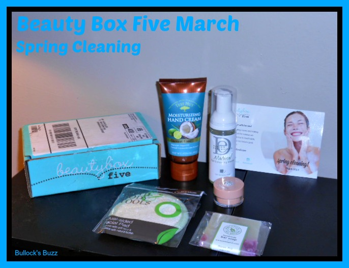 Beauty Box Five March 2
