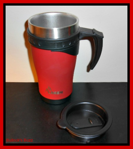 Laken Bottles Review Insulated Stainless Steel Thermo Cup in Red