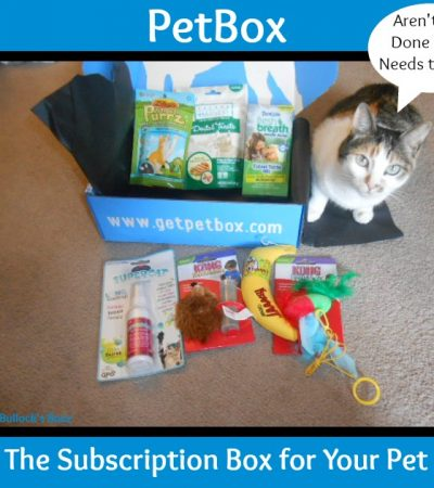 PetBox ~ The Monthly Subscription Box for Pets Where You Choose What You Get!