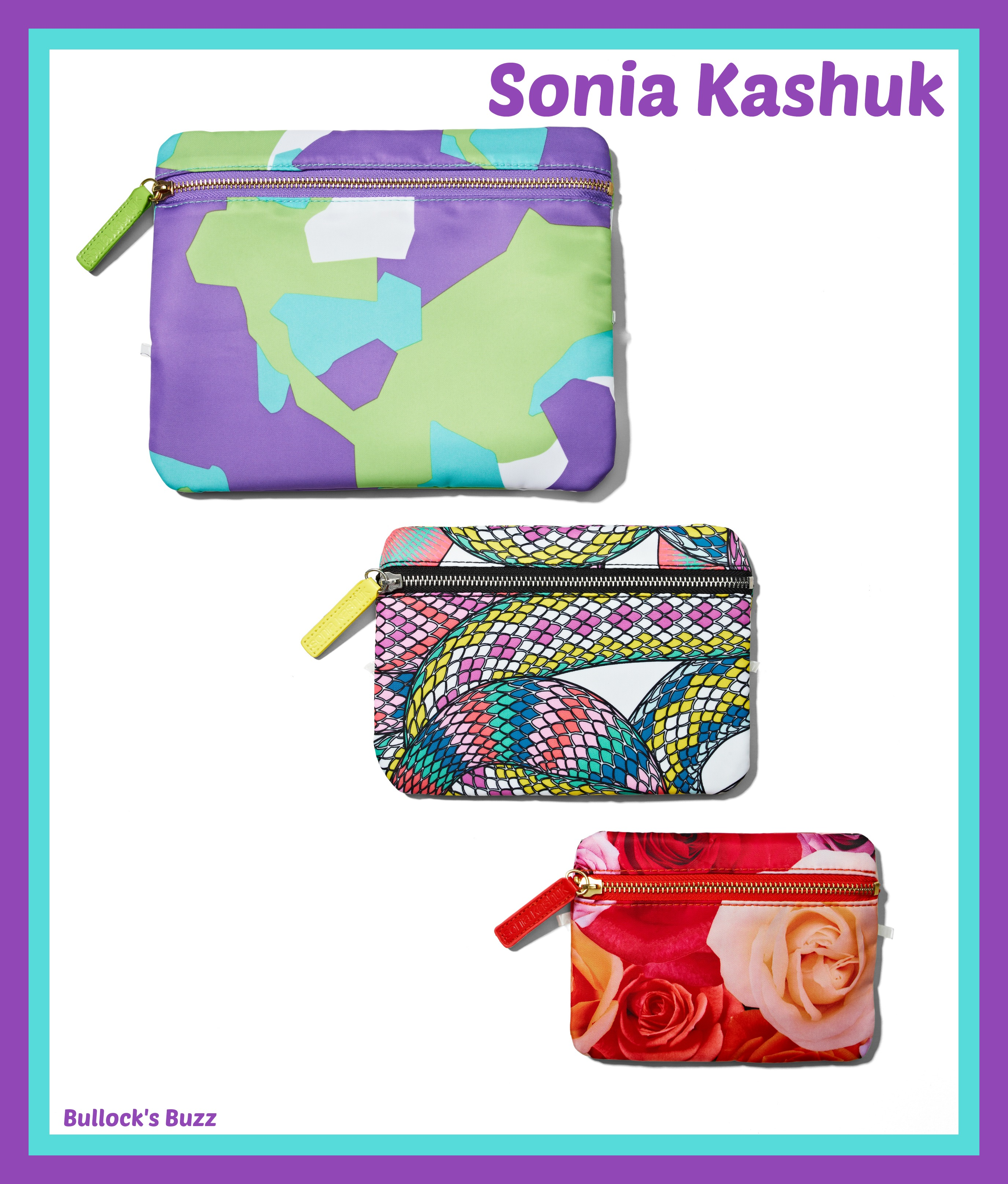 Catenya Smart Sun Travel Style Solutions Sonia Kashuk travel bags