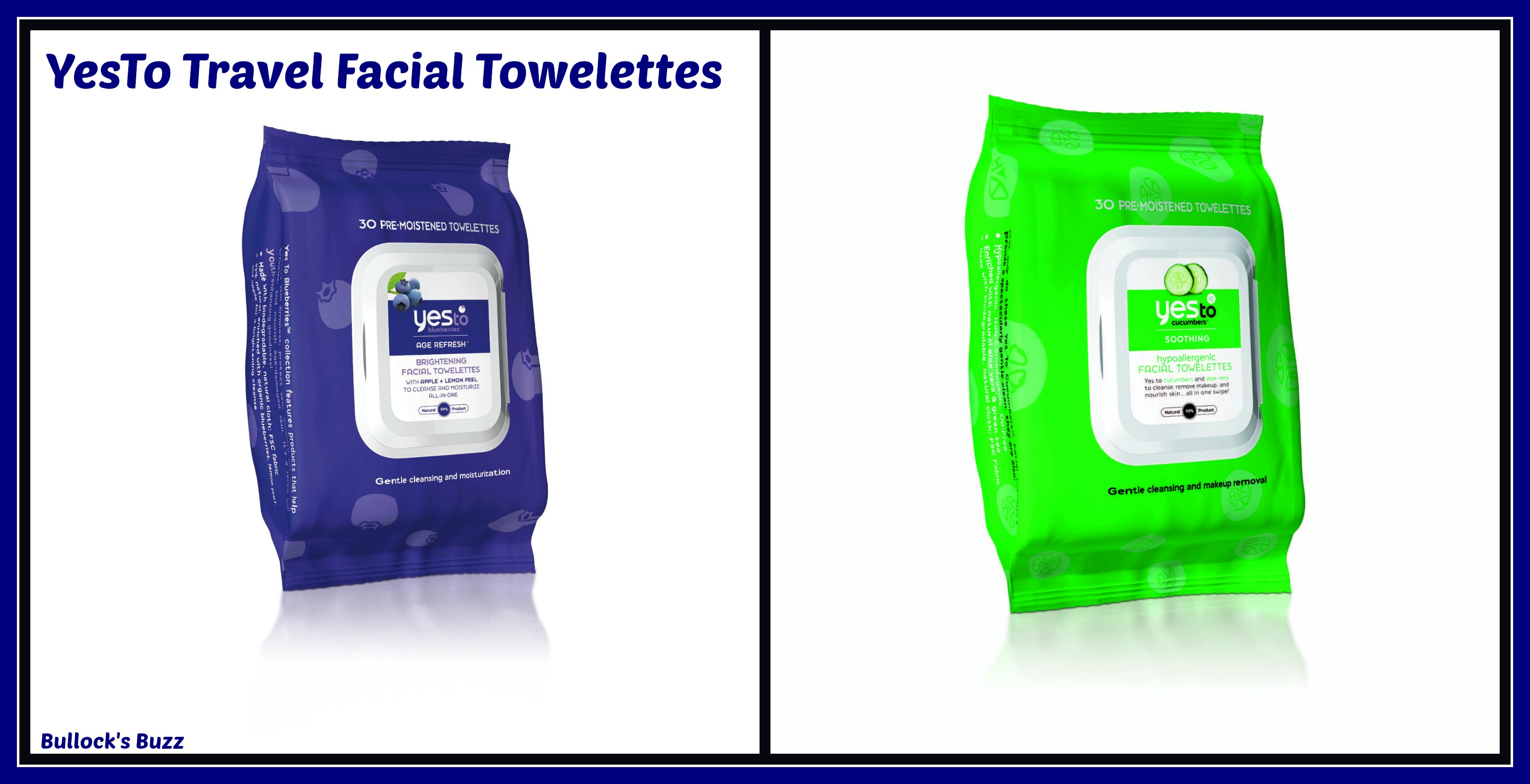 Catenya Smart Sun Travel Style Solutions YesTo Facial Wipes Travel Size