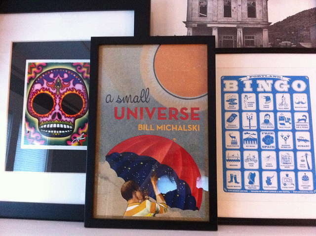 A Small Universe Framed Posters