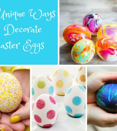 Twenty Unique Ways to Decorate Easter Eggs
