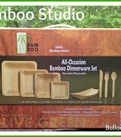 Bamboo Studio: Bamboo Dinnerware Set – Stylish and Biodegradable!