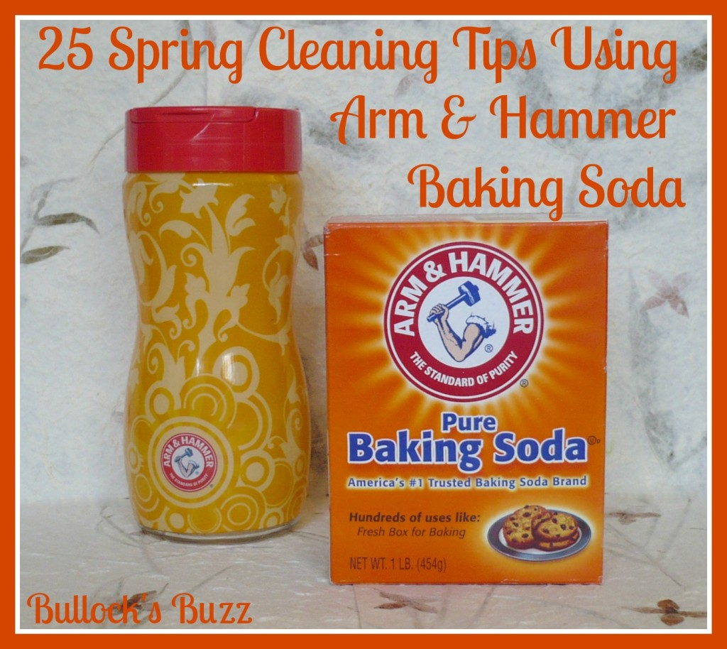 25 spring cleaning ideas using arm and hammer baking soda On baking soda cleaning tips