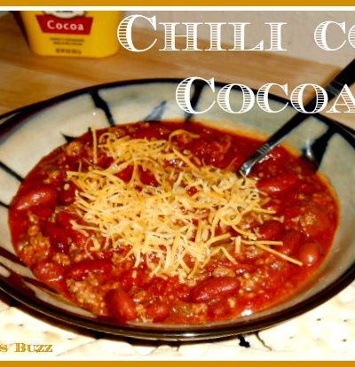Chili con Cocoa Recipe + Five Must-Have Kitchen Tools