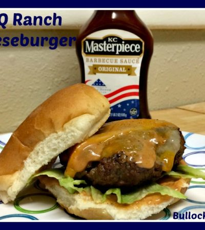 BBQ Ranch Cheeseburger Recipe – Grilling with KC Masterpiece
