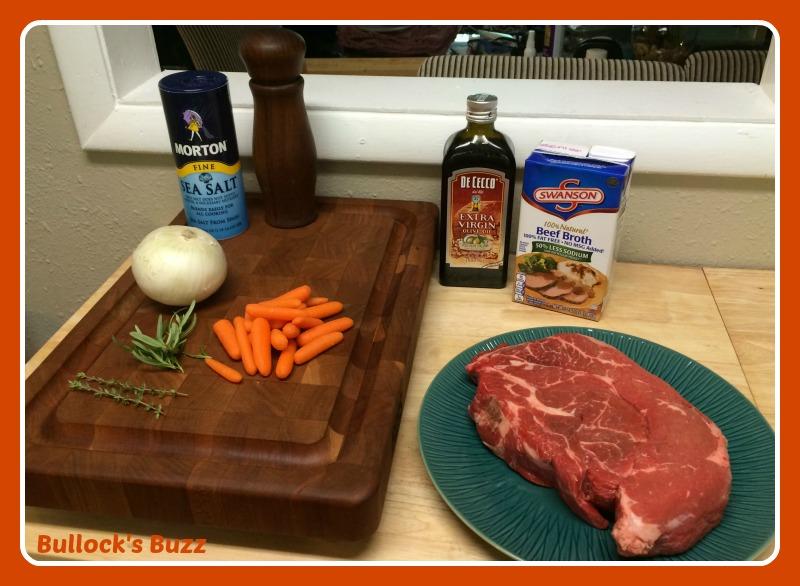 Slow Cooker Pot Roast Recipe ingredients