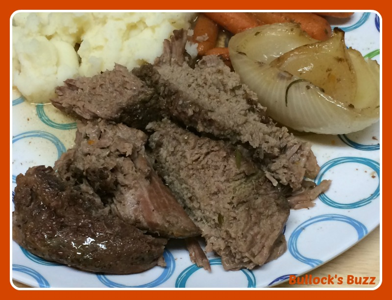 Slow Cooker Pot Roast Recipe serve and enjoy