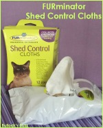 FURminator Shed Control Cloths – Get Rid of Excess Cat Fur the Easy Way