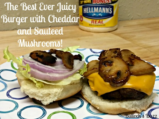Hellmann's-Best-Ever-Juicy-Burger-with-Cheddar-and-Sauteed-Mushrooms-Recipe6