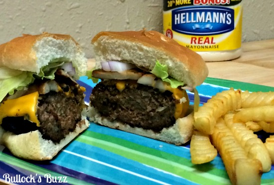 Hellmann's-Best-Ever-Juicy-Burger-with-Cheddar-and-Sauteed-Mushrooms-Recipe7