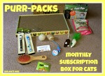 Purr-Packs Monthly Subscription Box Review- Purrfect for Even Finicky Felines!