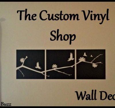 The Custom Vinyl Shop – Decorating on a Budget