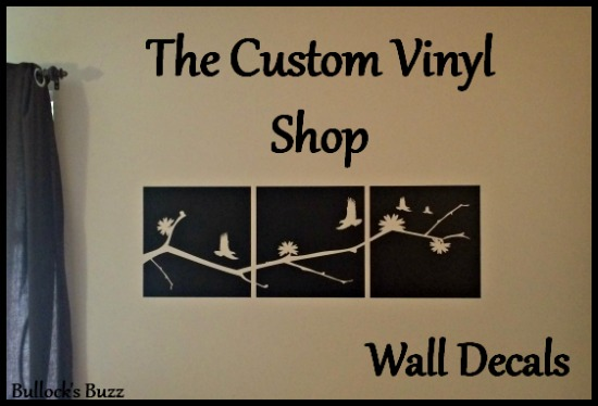 The Custom Vinyl Shop – Decorating on a Budget + Giveaway!