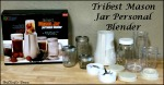 Tribest Mason Jar Personal Blender + 5 Fresh Fruit Smoothie Recipes