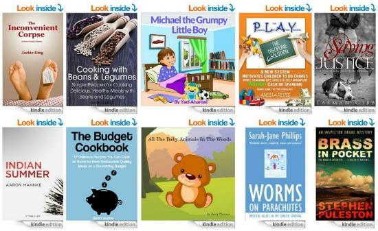 10 Free Kindle Books 7-24-14