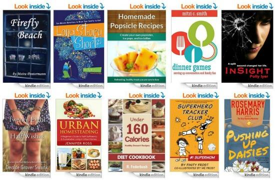 10 Free Kindle Books 7-4-14