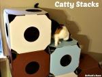 Catty Stacks – Eco-Friendly, Modular Cat Condos