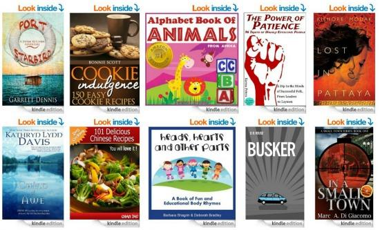 10 Free Kindle Books 8-1-14